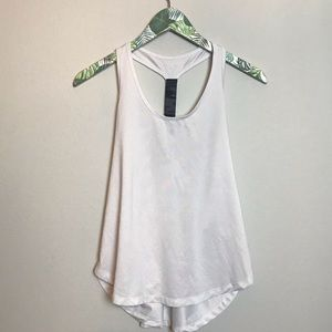 OLD NAVY go dry workout white camo back tank